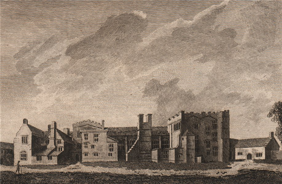 Associate Product FORD ABBEY, Devonshire. GROSE 1776 old antique vintage print picture