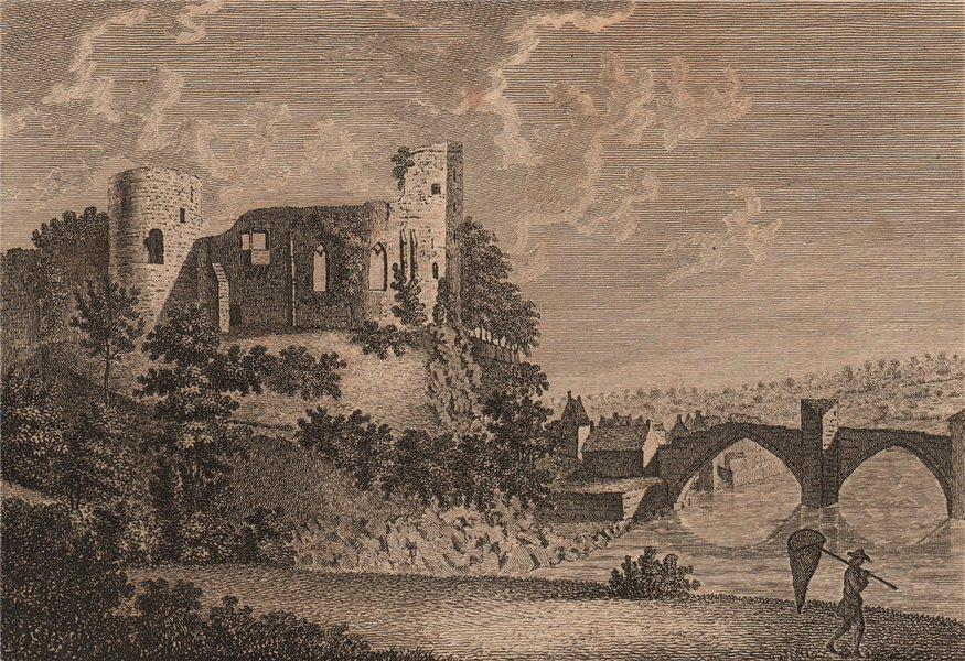 Associate Product BARNARD CASTLE. 'Bernard's Castle, in the Bishoprick of Durham'. GROSE 1776