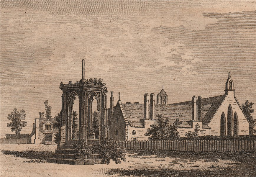 Associate Product THE HOUSE OF THE BLACK FRIARS, Hereford. Plate 1. Herefordshire. GROSE 1776