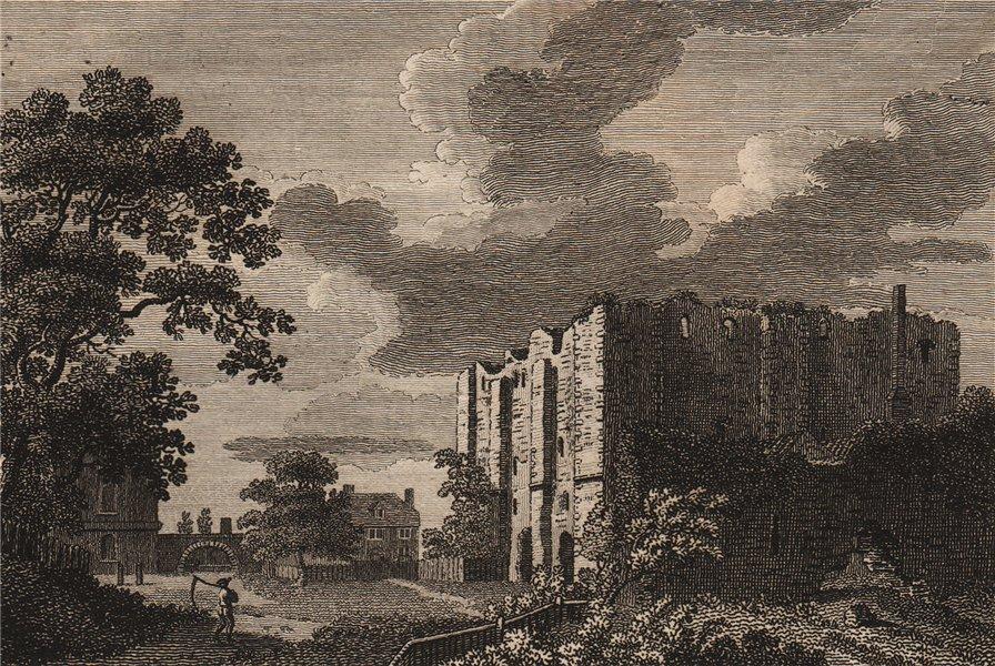 Associate Product CANTERBURY CASTLE, Kent. GROSE 1776 old antique vintage print picture