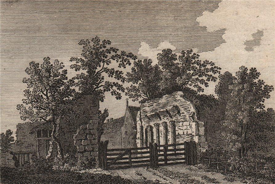 Associate Product WESTENHANGER, or Ostenhanger house, Kent. Plate 2. GROSE 1776 old print