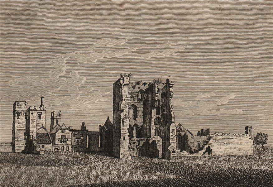 Associate Product ASHBY DE LA ZOUCH CASTLE,  Leicestershire Plate 2. GROSE 1776 old print