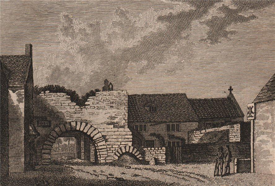 Associate Product ASHBY DE LA ZOUCH CASTLE,  Leicestershire Plate 3. GROSE 1776 old print