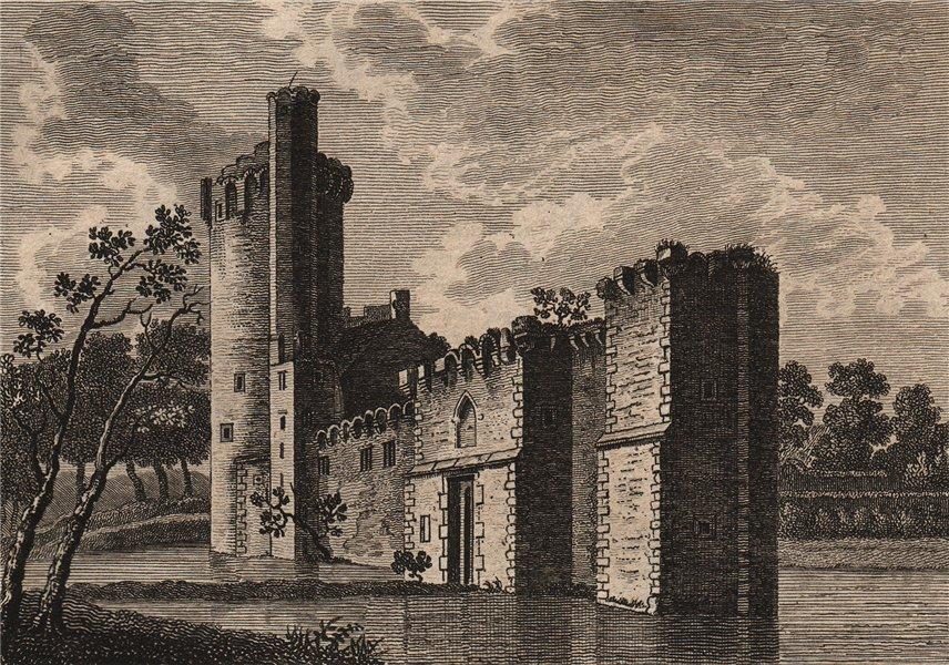 Associate Product CAISTOR HALL, Norfolk. 'Castre, or Castor Hall or Castle'. Plate 1. GROSE 1776