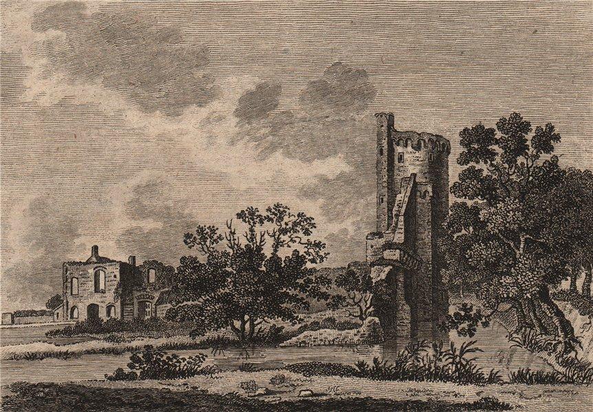Associate Product CAISTOR HALL, Norfolk. 'Castre, or Castor Hall or Castle'. Plate 2. GROSE 1776