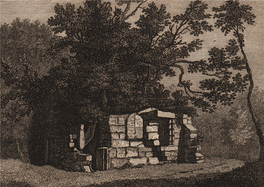 Associate Product OUR LADY'S CHAPEL, BOTHAL, Northumberland. 'Bothall'. GROSE 1776 old print