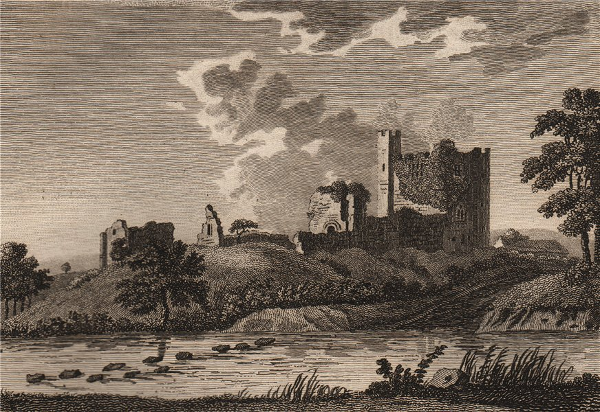 Associate Product BOTHAL CASTLE, Northumberland. 'Bothall Castle'. Plate 1. GROSE 1776 old print