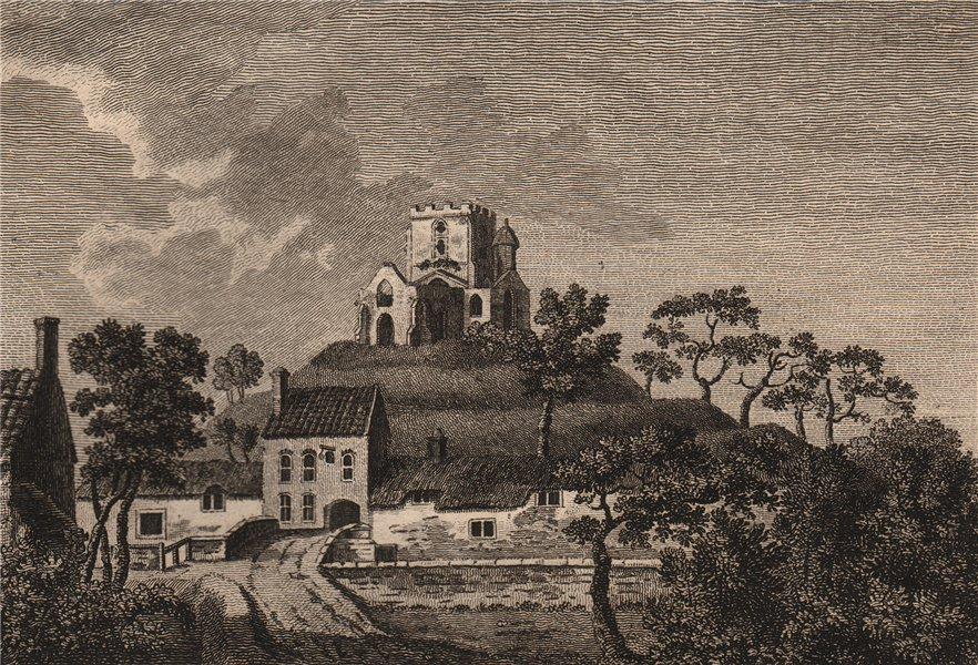 Associate Product BURROUGH CHAPEL, Somersetshire. GROSE 1776 old antique vintage print picture