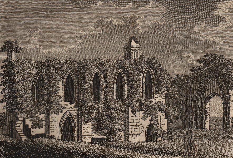 Associate Product GLASTONBURY. 'The Chapel of St. Joseph of Arimathea', Somersetshire. GROSE 1776