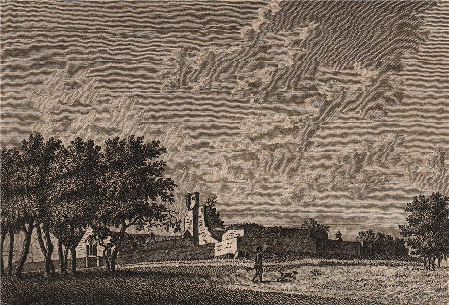 Associate Product FARNHAM CASTLE, Surrey. Plate 2. GROSE 1776 old antique vintage print picture