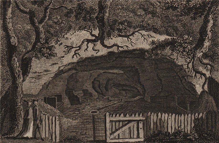 Associate Product MOTHER LUDLAM'S CAVE, Farnham, Surrey. 'Mother Ludlam's hole'. GROSE 1776