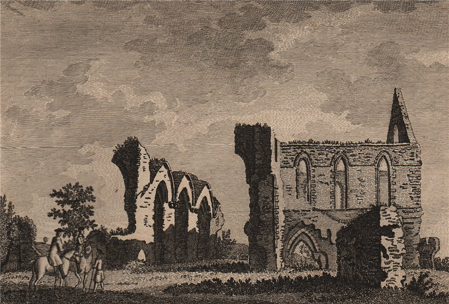 Associate Product NEWARK PRIORY, Surrey. GROSE 1776 old antique vintage print picture