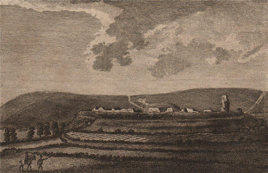 Associate Product BRAMBER CASTLE, Sussex. GROSE 1776 old antique vintage print picture