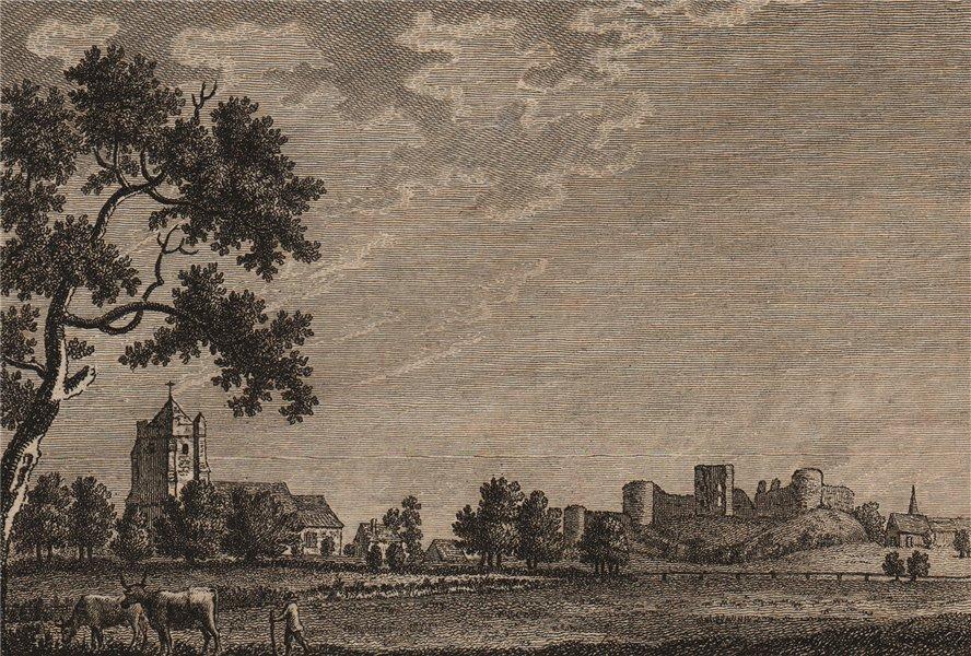 Associate Product PEVENSEY CASTLE, Sussex. Plate 2. GROSE 1776 old antique vintage print picture