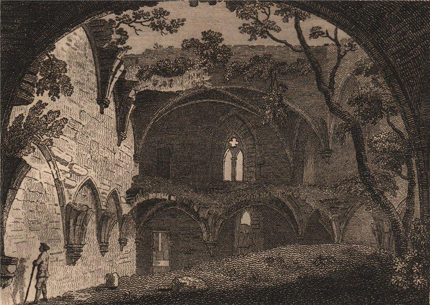 Associate Product ST. AGATHA'S MONASTERY, near Richmond, Yorkshire. Plate 1. GROSE 1776 print