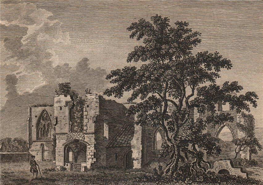 Associate Product ST. AGATHA'S MONASTERY, near Richmond, Yorkshire. Plate 2. GROSE 1776 print