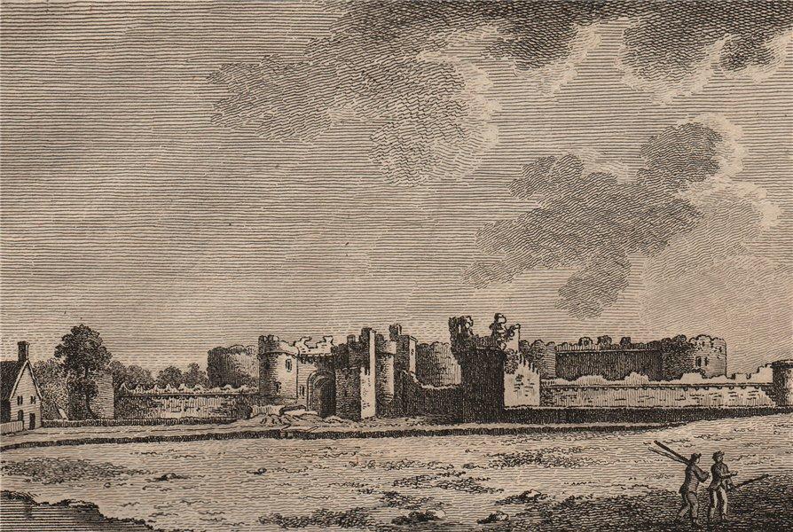 Associate Product BEAUMARIS CASTLE. 'Beaumarais Castle', Anglesey, North Wales. GROSE 1776 print