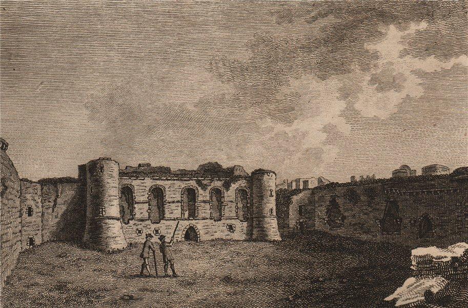 Associate Product BEAUMARIS CASTLE. The Great Hall. 'Beaumarais', Anglesey, Wales. GROSE 1776