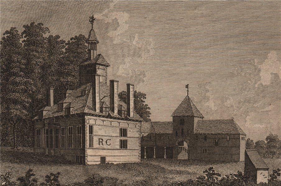 Associate Product BACHEGRAIG HOUSE. 'Bachegrig House', Flintshire, Wales. GROSE 1776 old print