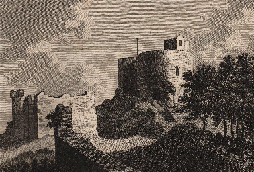 Associate Product HAWARDEN CASTLE, Flintshire, Wales. GROSE 1776 old antique print picture