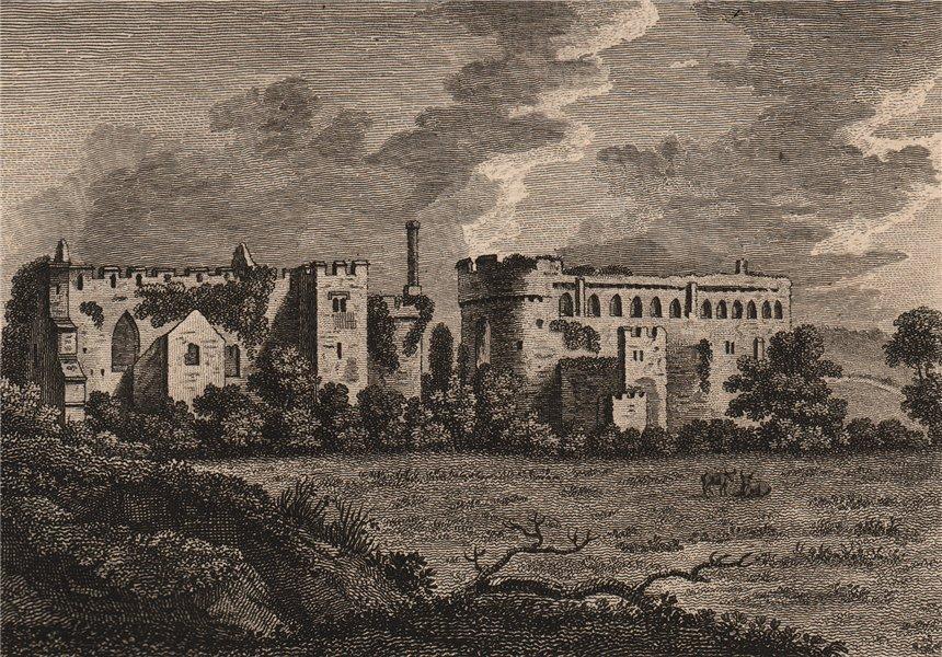 LLANFETH or Lantphey-Court, Pembrokeshire, Wales. GROSE 1776 old antique print