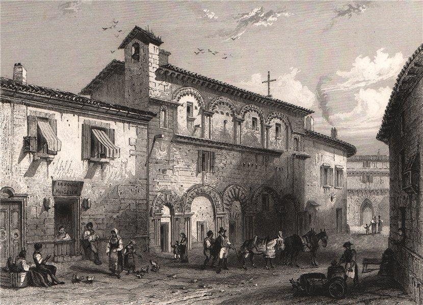 Associate Product PÉRIGUEUX. Couvent de La Foi. Dordogne 1844 old antique vintage print picture
