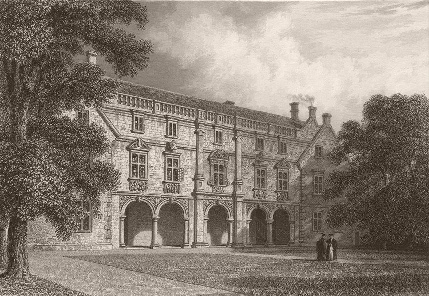 Associate Product The Pepysian Library, MAGDALEN COLLEGE, Cambridge. LE KEUX 1841 old print