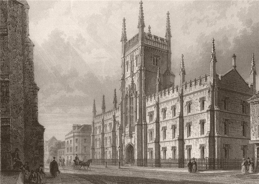 Associate Product CAMBRIDGE.The University or Pitt Press. LE KEUX 1841 old antique print picture