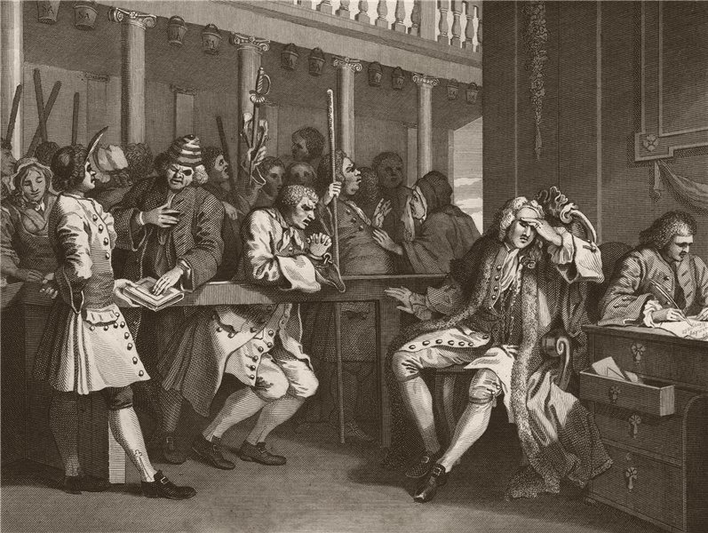 Associate Product INDUSTRY & IDLENESS. Industrious 'prentice Alderman of London. HOGARTH 1833