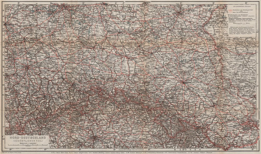 Associate Product SW Poland. N Czech Republic. E Germany. Poznan Berlin Prague Katowice 1913 map