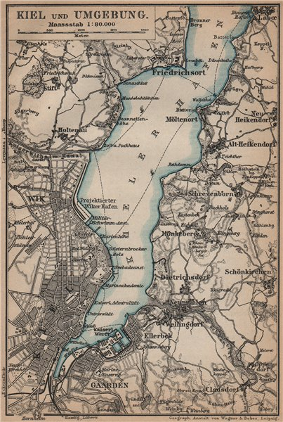 KIEL umgebung KIELER FRDEHafen Friedrichsort Schleswig