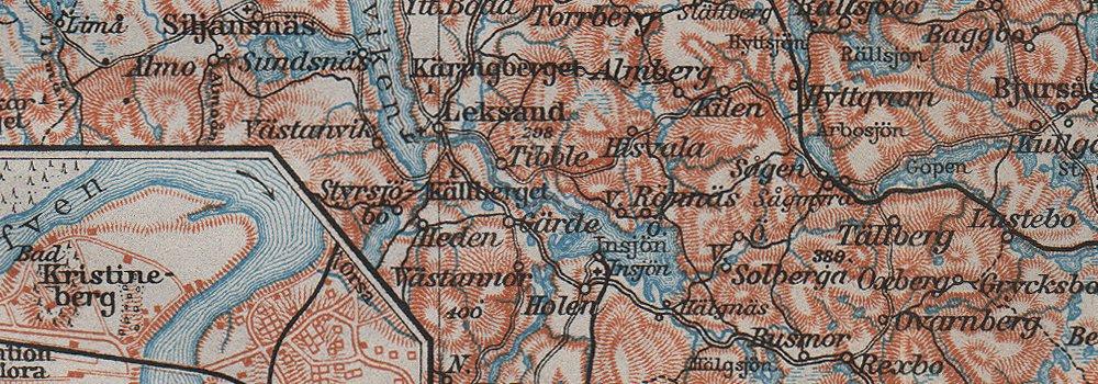 karta mora LAKE SILJAN REGION. Rättvik Falun Mora town plans. Sweden karta  karta mora