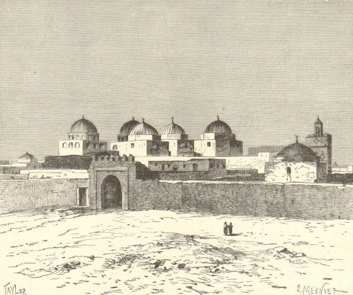 Associate Product Kairouan/Kairouan. The Mosque of the Swords. Mosque of Uqba. Tunisia 1885