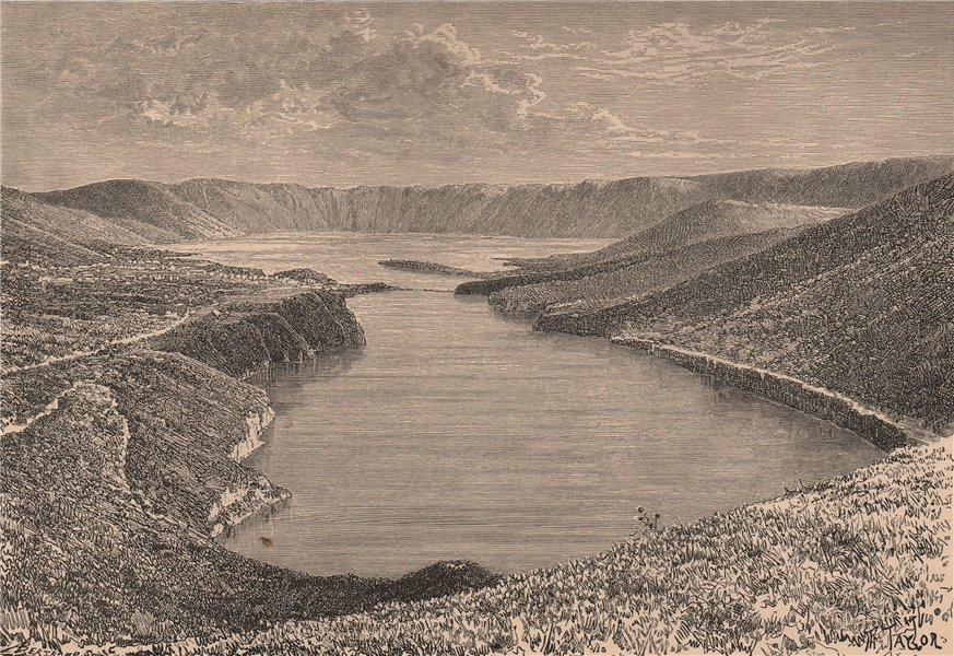Associate Product Lagoa das/Lake of the Sete Citades, Sao/São Miguel, Azores. Portugal 1885