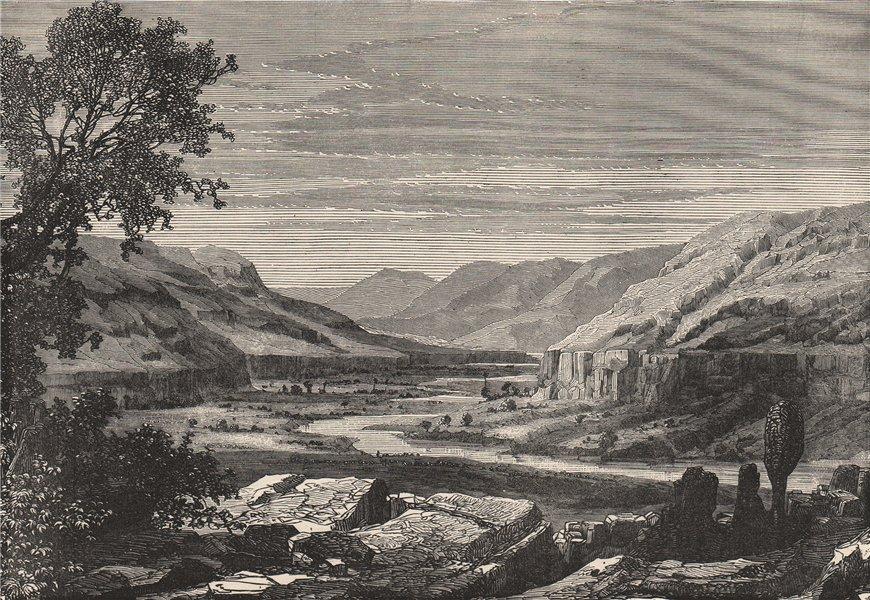 Associate Product Valley of the Tominé River (Corubal, Koliba River) Guinea 1885 old print
