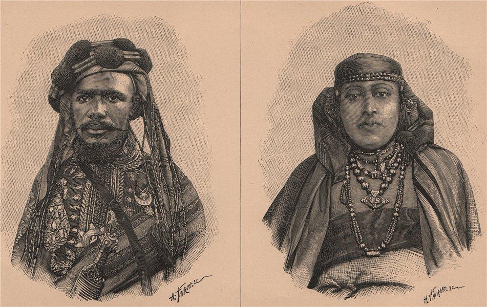 Associate Product Saїd Ali, Sultan of Great Comoro; A Princess Of Great Comoro. Comoros 1885