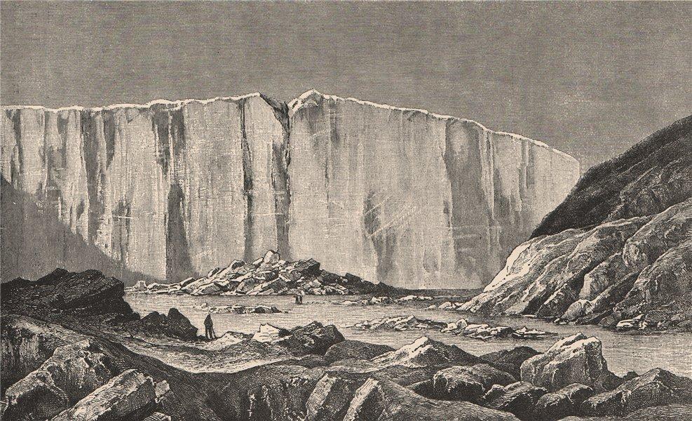 Associate Product Lady Henrietta Glacier, Grinnell Land. Canadian Arctic Archipelago 1885 print