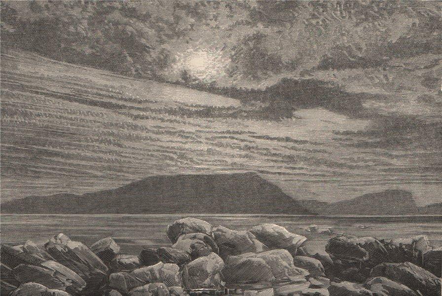 Associate Product Polar scenery - Bellot Island. Canada. Canadian Arctic Archipelago 1885 print