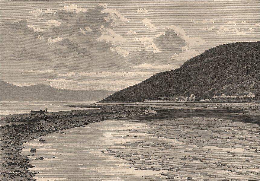 Associate Product New Brunswick scenery - View taken near St. John. Canada 1885 old print