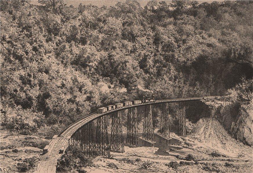 Associate Product Puente Metlac Ferrocarril viaduct. Fortin de las Flores Veracruz Mexico 1885