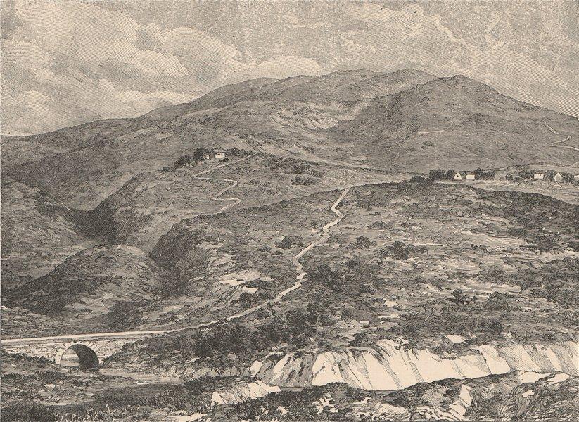 Associate Product Boyaca Battlefield. Colombia 1885 old antique vintage print picture