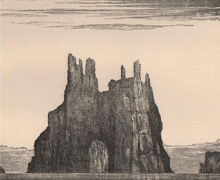 Associate Product Peterborough Cathedral, Rock, San Felix, Desventuradas Islands, Chile 1885