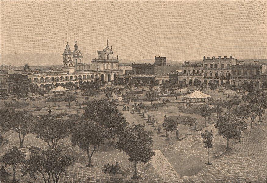 Associate Product Tucuman. Argentina 1885 old antique vintage print picture
