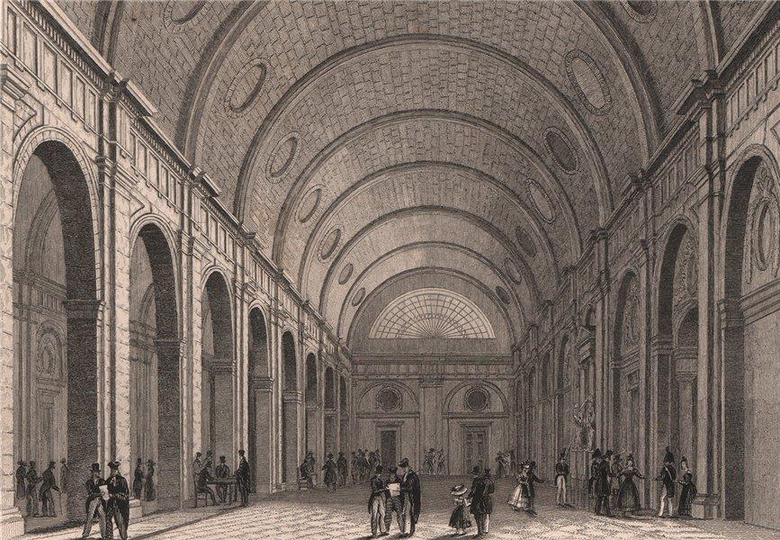 Associate Product PARIS. Salle des pas-perdus. BICKNELL 1845 old antique vintage print picture