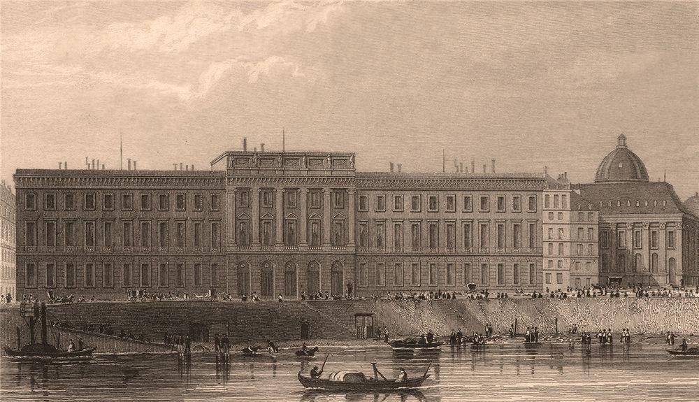Associate Product PARIS. Hotel des Monnaies. BICKNELL 1845 old antique vintage print picture