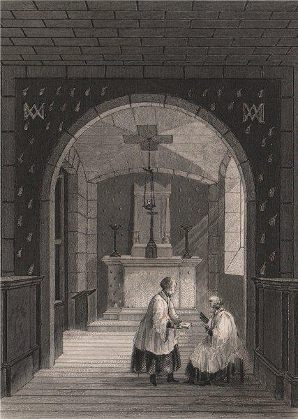Associate Product PARIS. Chapelle Expiatoire, Conciergerie. BICKNELL 1845 old antique print