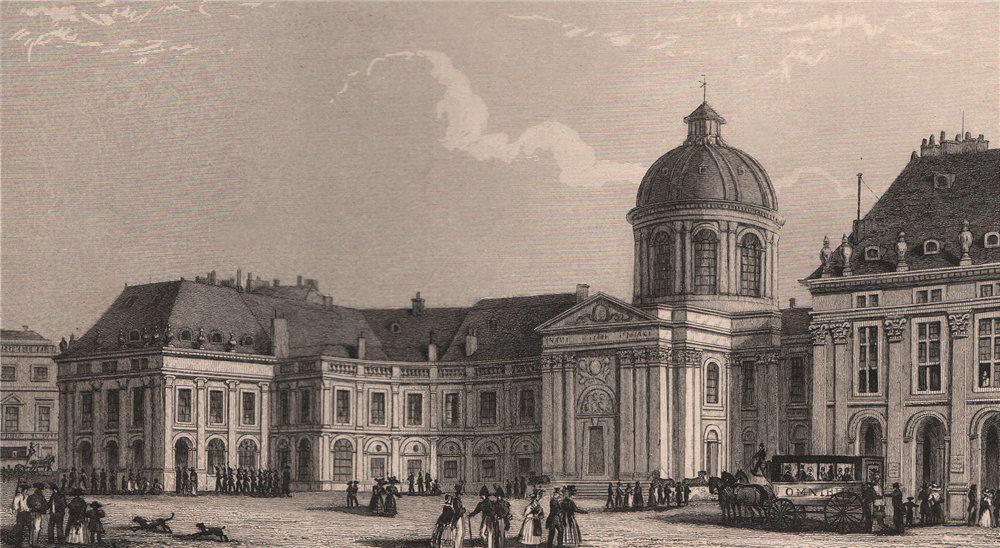 Associate Product PARIS. Palais de l'Institute. BICKNELL 1845 old antique vintage print picture