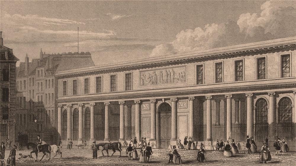Associate Product PARIS. Ecole de Medecine. BICKNELL 1845 old antique vintage print picture