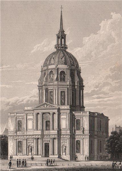 Associate Product PARIS. Chapelle des invalides. BICKNELL 1845 old antique vintage print picture