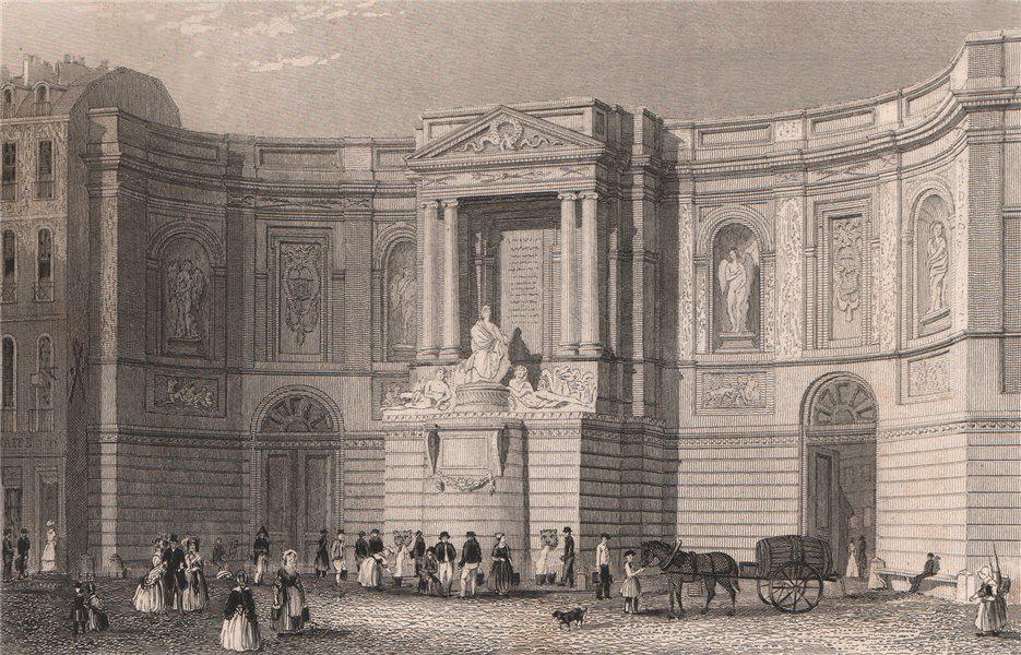 Associate Product PARIS. Fontaine de Grenelle. BICKNELL 1845 old antique vintage print picture